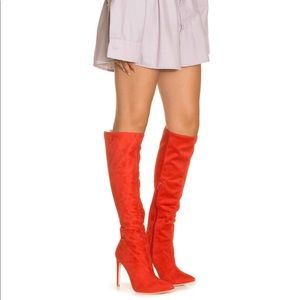 Jeffery Campbell Jalouse Sexy Red Boots